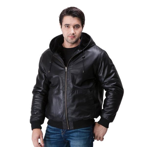 mens sheep leather jackets